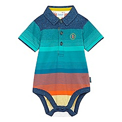 Baker by Ted Baker - Baby boys' blue striped bodysuit