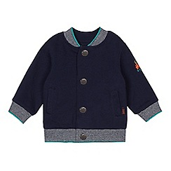 Baker by Ted Baker - Baby boys' navy reversible bomber jacket