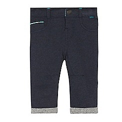 Baker by Ted Baker - Baby boys' navy button joggers