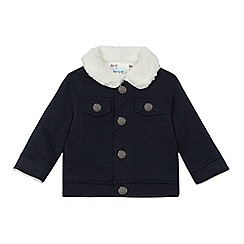 Baker by Ted Baker - Baby boys' navy shearling jacket
