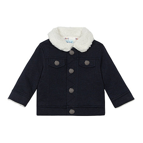 Baker by Ted Baker - Baby boys+ navy shearling jacket