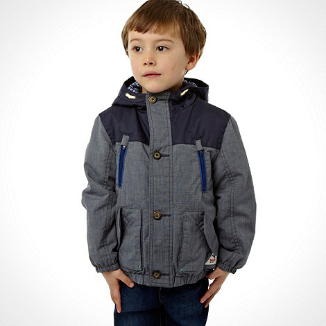 Baker by Ted Baker - Boy's blue chambray jacket