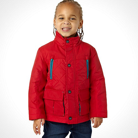 Baker by Ted Baker - Boy's red windcheater jacket