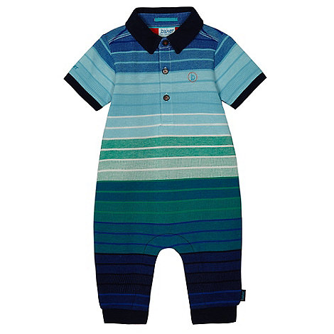 Baker by Ted Baker - Boy+s multi stripe polo top