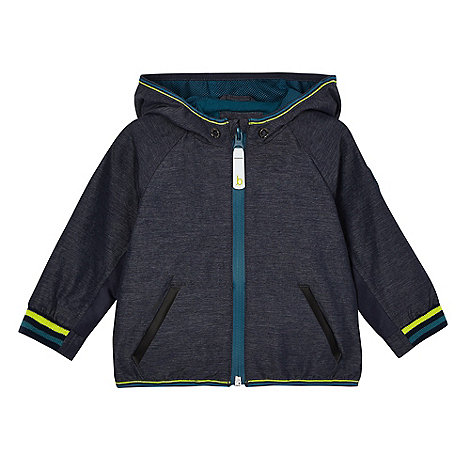 Baker by Ted Baker - Baby boys+ grey lightweight zip-through jacket