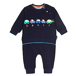 Baker by Ted Baker - Baby boys' navy car print set