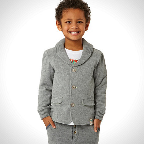Baker by Ted Baker - Boy+s grey sweat blazer