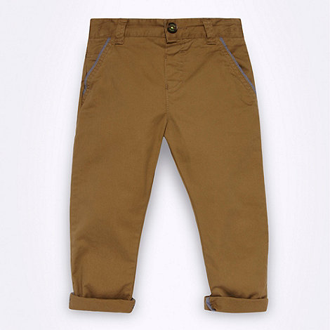 Baker by Ted Baker - Boy+s natural chinos