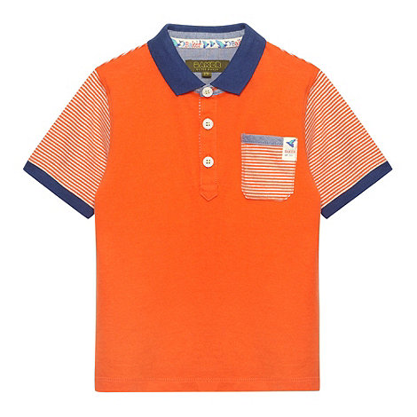 Baker by Ted Baker - Boy+s orange polo shirt