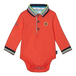 Baker by Ted Baker - Baby boys' orange polo bodysuit
