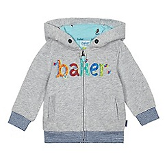 Baker by Ted Baker - Baby boys' grey bird hoodie