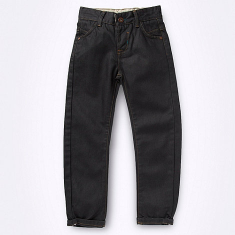 Baker by Ted Baker - Boys+ dark grey twisted jeans