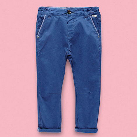 Baker by Ted Baker - Boy+s blue chino trousers