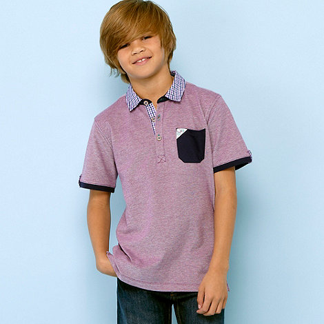 Baker by Ted Baker - byb c1 pique check polo