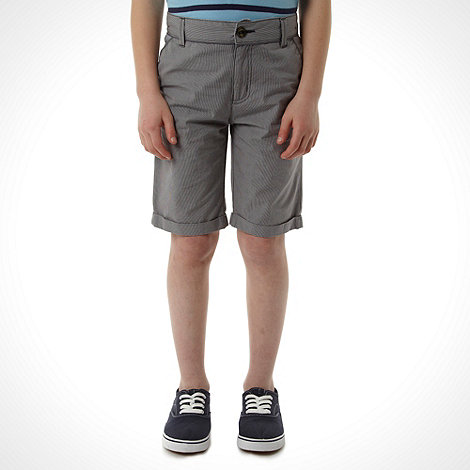 Baker by Ted Baker - Boy+s grey chino shorts