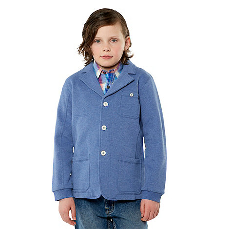Baker by Ted Baker - Boy+s blue sweat blazer