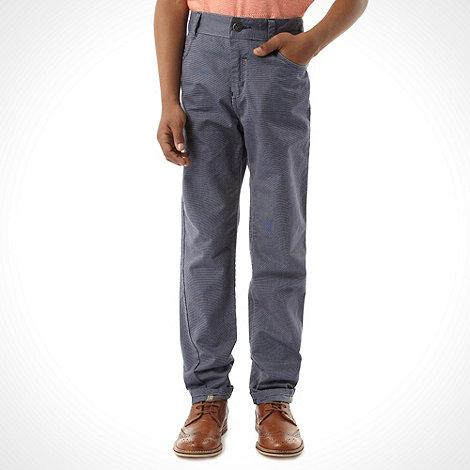 Baker by Ted Baker - Boy+s blue smart trousers