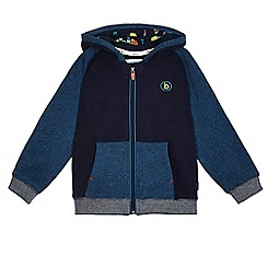 Baker by Ted Baker - Boys' navy colour block hoodie