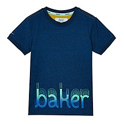 Baker by Ted Baker - Boys' navy printed t-shirt