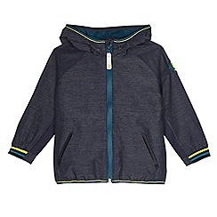 Baker by Ted Baker - Boys' navy trim hoodie