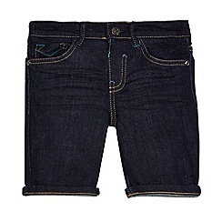 Baker by Ted Baker - Boys' navy denim slim fit shorts