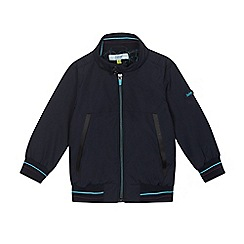 Baker by Ted Baker - Boys' navy 'Harrington' zip-up jacket