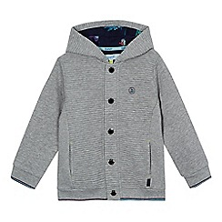 Baker by Ted Baker - Boys' grey quilted hooded jacket
