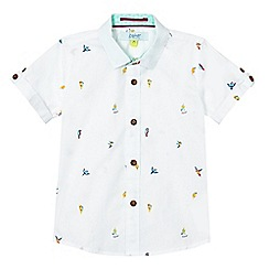 Baker by Ted Baker - Boys' white parrot print short