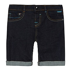 Baker by Ted Baker - Boys' dark blue denim shorts