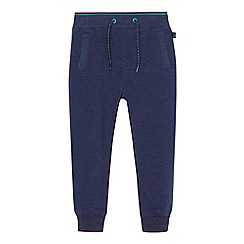 Baker by Ted Baker - Boys' navy textured ribbed jogging bottoms