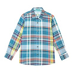 Baker by Ted Baker - Boys' multi-coloured checked shirt