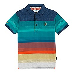 Baker by Ted Baker - Boys' blue striped polo shirt