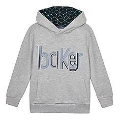 Baker by Ted Baker - Boys' logo print hoodie