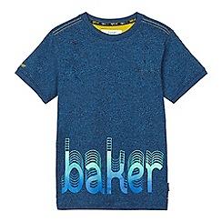 Baker by Ted Baker - Boys' blue 'Baker' print t-shirt