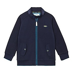 Baker by Ted Baker - Boys' blue Harrington zip-through jacket