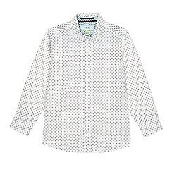 Baker by Ted Baker - Boys' white diamond print shirt