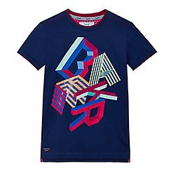 Baker by Ted Baker - Boys' blue graphic print t-shirt