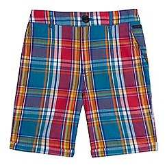 Baker by Ted Baker - Boys' multi-coloured checked shorts