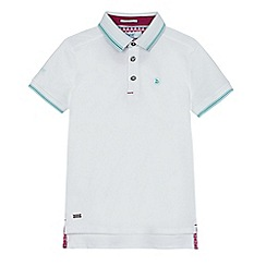 Baker by Ted Baker - Boys' white tipped polo shirt