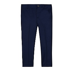 Baker by Ted Baker - Boys' navy parrot print lining trousers