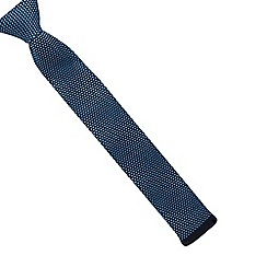 Baker by Ted Baker - Boys' blue knitted tie