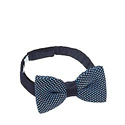 Baker by Ted Baker - Boys' navy knitted bow tie