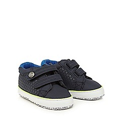 Baker by Ted Baker - Baby boys' navy textured shoes