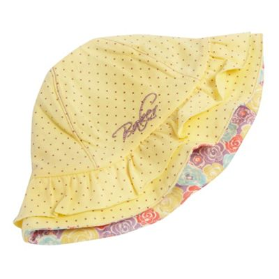 Yellow girls fisherman hat 2011