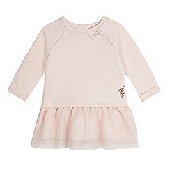 Baker by Ted Baker - Baby girls' pink embroidered dress