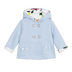 Baker by Ted Baker - Baby girls' light blue quilted jacket
