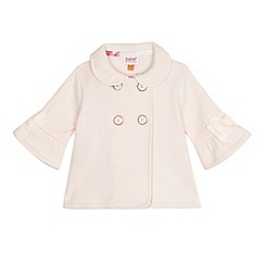 Baker by Ted Baker - Baby girls' light pink Peter Pan collar jacket