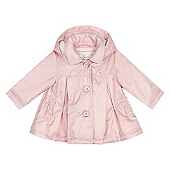 Baker by Ted Baker - Baby girls' pink pleated lightweight mac