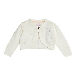 Baker by Ted Baker - Baby girls' white knitted cardigan