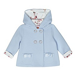Baker by Ted Baker - Baby girls' blue quilted jacket